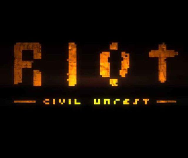 Schermata del titolo di Riot: Civil Unrest