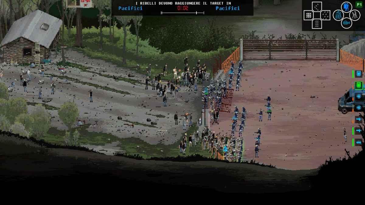 Uno scontro della Campagna in Val di Susa su Riot: Civil Unrest