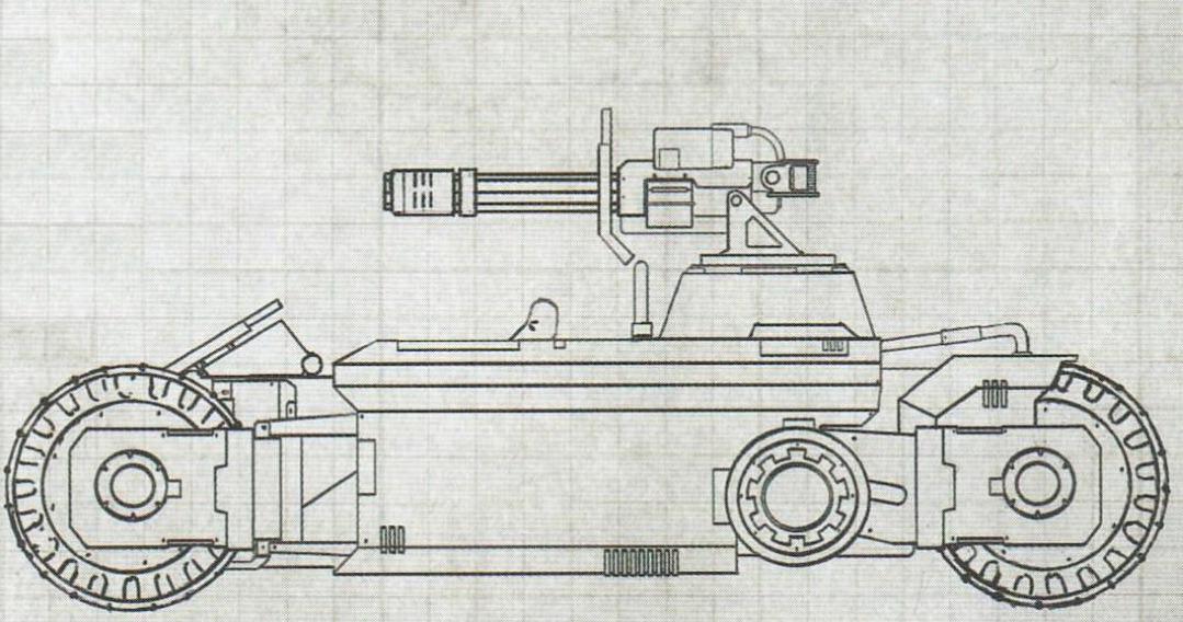 ATV Invader degli Space Marine Primaris