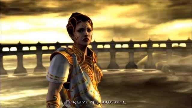 Atena si rivela essere la sorella di Kratos