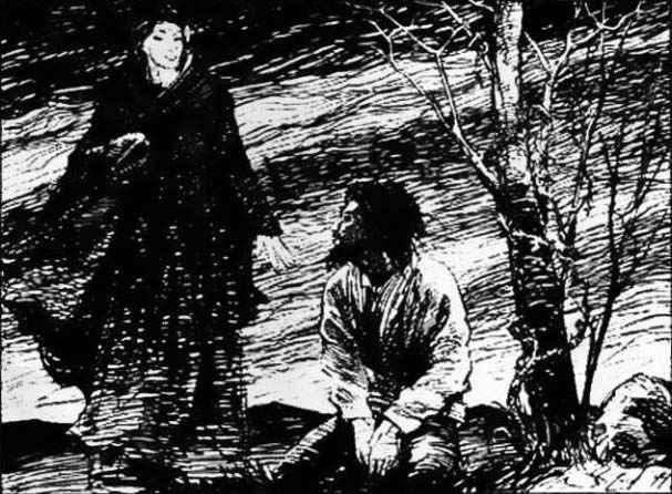 Caino incontra Lilith in Vampire the Masquerade