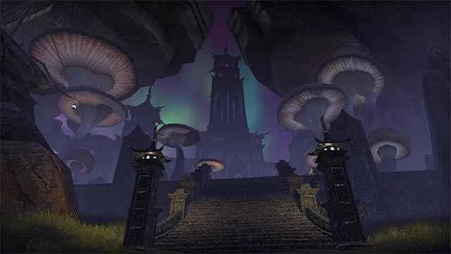 Il palazzo del Principe Daedrico Sheogorath in The Elder Scrolls Online