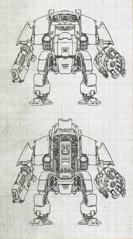 Schemi dei Dreadnought Redemptor
