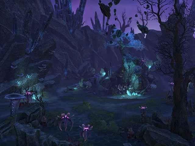 Un paesaggio decisamente lovecraftiano in The Elder Scrolls Online