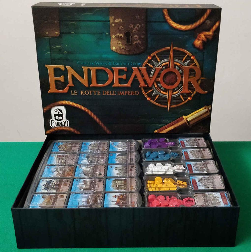 Endeavor - Scatola