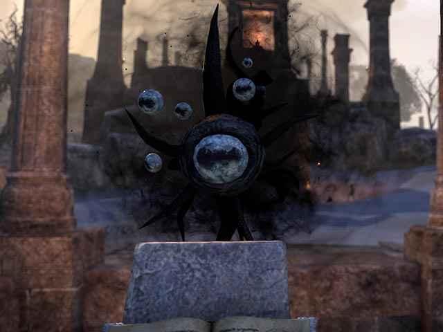 L'aspetto del Principe Daedrico Hermaeus Mora in The Elder Scrolls Online