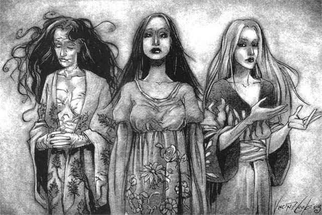 I tre aspetti di Lilith in Gehenna