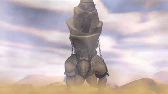 In God of War (2005) il Titano Crono è condannato a vagare nel deserto, portando sulla schiena l'enorme Tempio di Pandora