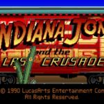 Indiana Jones e l'Ultima Crociata - Videogame