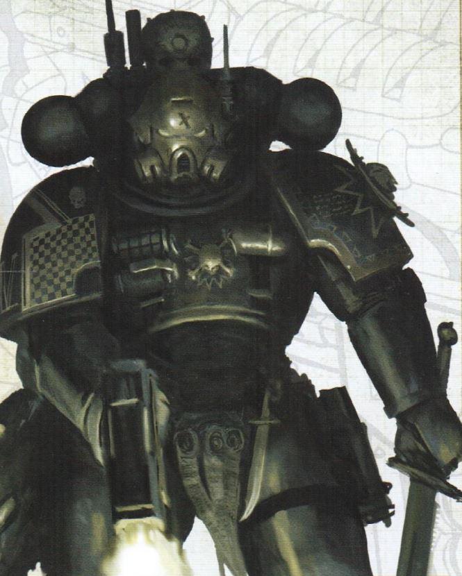 Theod, Infiltratore del Capitolo Golden Halos