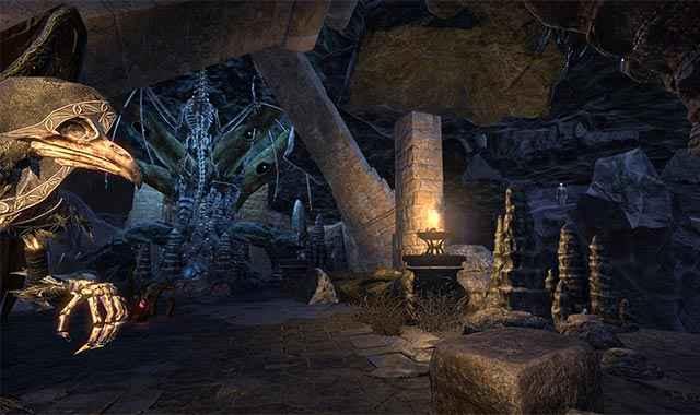Una visuale dell'interno dell'abitazione di The Erstwhile Sanctuary