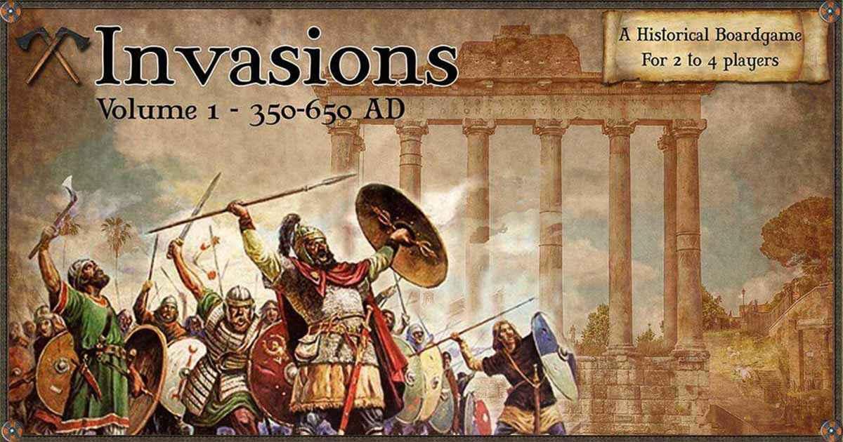 Arriva Invasions il nuovo gioco di Philippe Thibaut