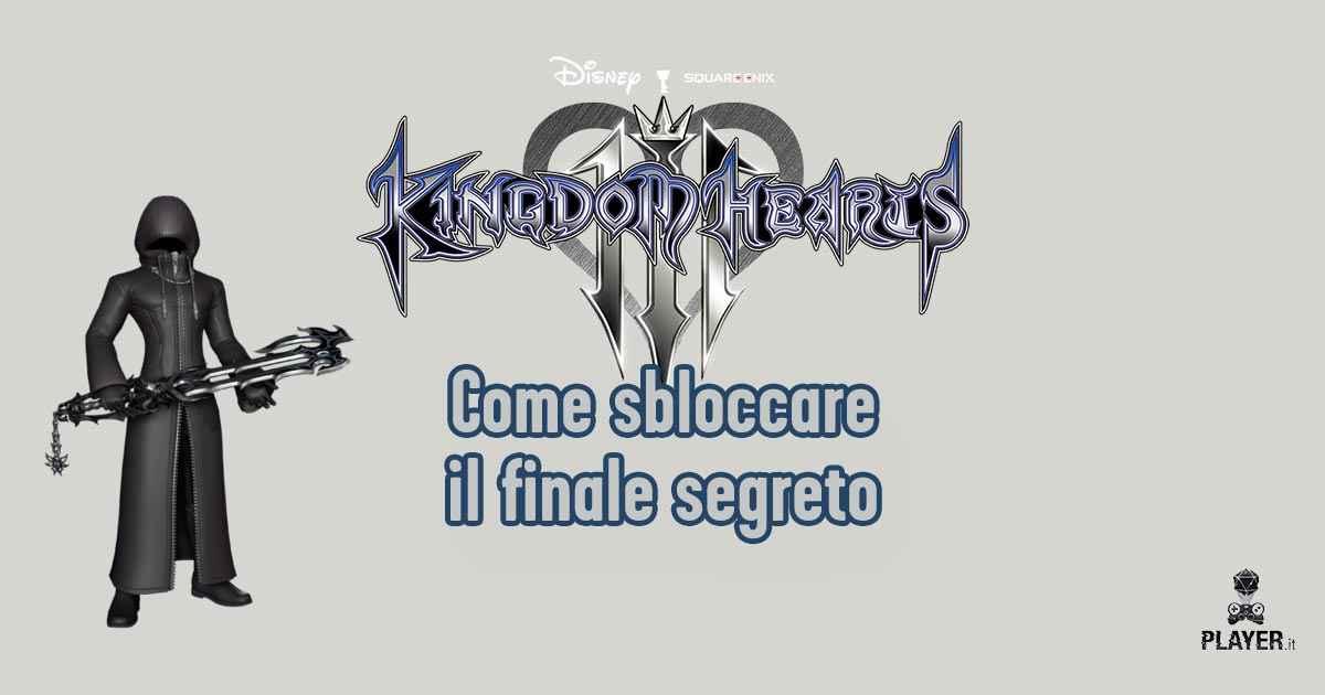 Kingdom Hearts 3 | Guida al finale segreto