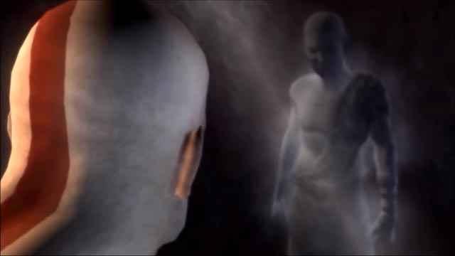 Kratos combatte contro il sé stesso del passato
