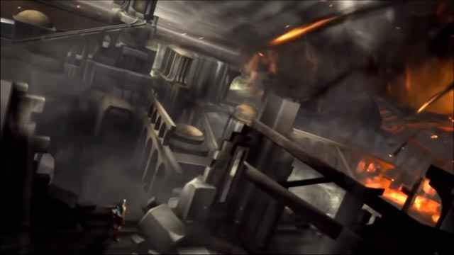 Kratos provoca la distruzione di Atlantide