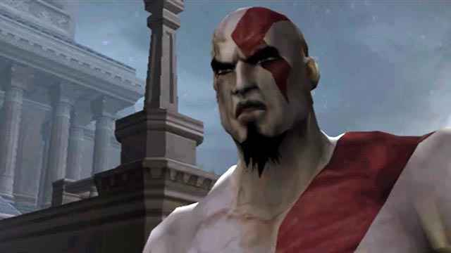 Kratos incontra il Becchino in God of War (2005)