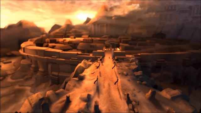 Kratos rientra a Sparta, dopo tanto