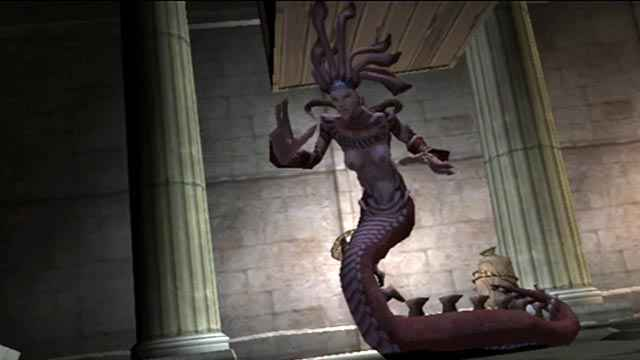 La Gorgone Medusa appare in God of War (2005)