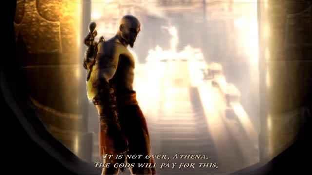 Thanatos giura vendetta agli dèi dell'Olimpo