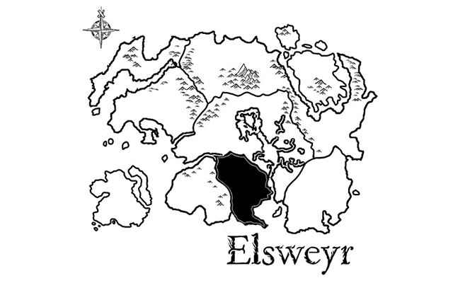 Mappa dell'Elsweyr, la nuova regione introdotta in The Elder Scrolls: Online