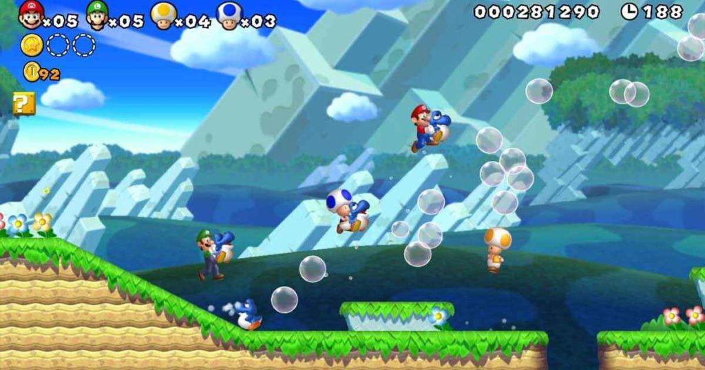 New Super Mario Bros U Recensione, c'è anche Yoshi