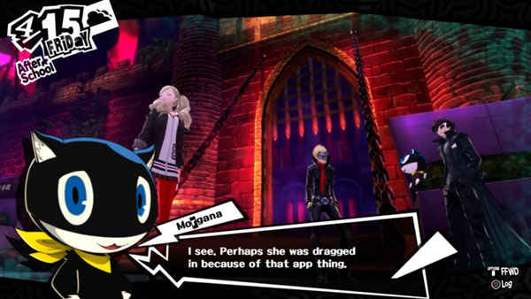 Persona 5 dialogue morgana