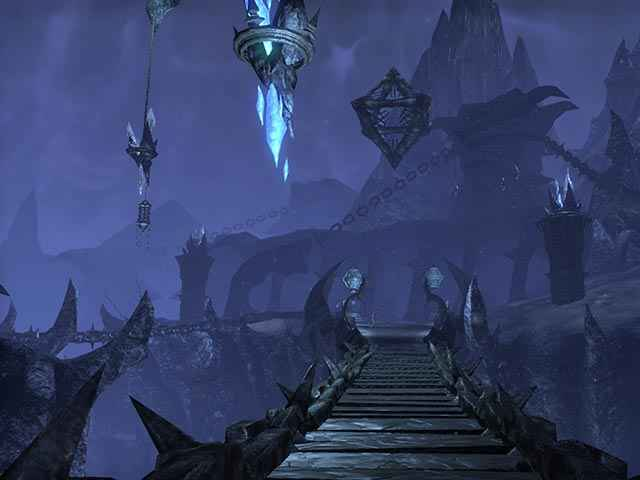 I desolati e alieni paesaggi di Coldharbour in The Elder Scrolls Online