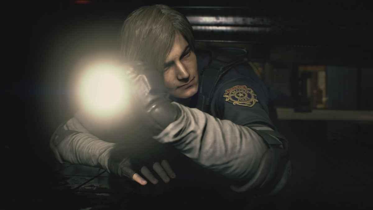 Resident Evil 2 Remake leon torcia