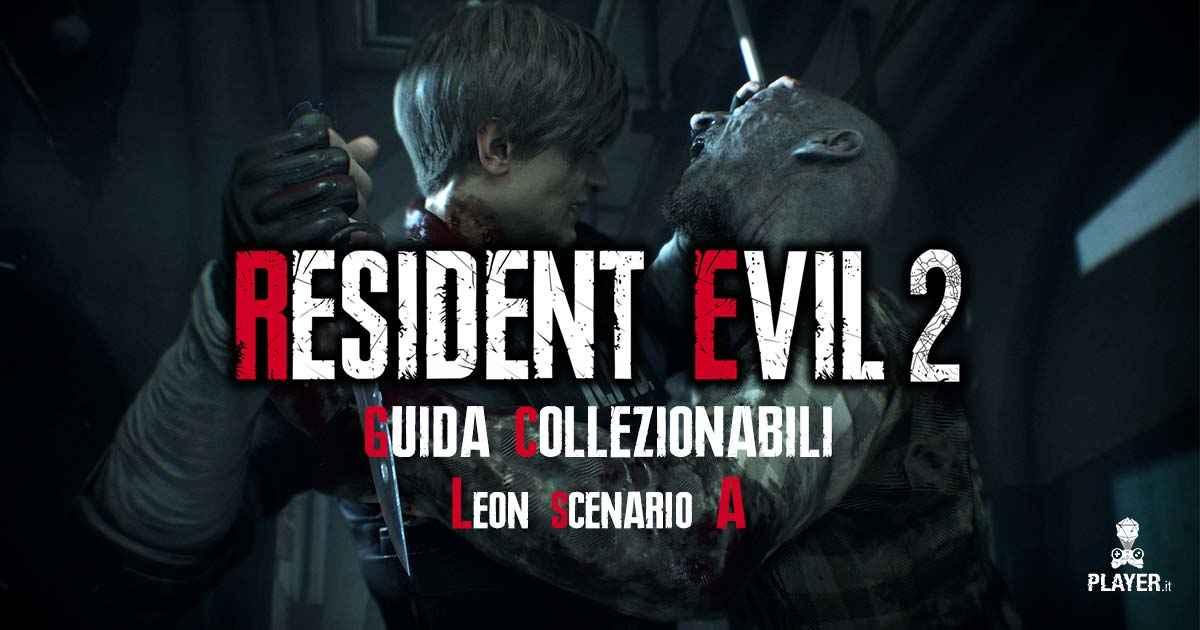 come trovare tutti i collezionabili di Leon nello scenario A di Resident Evil 2 Remake