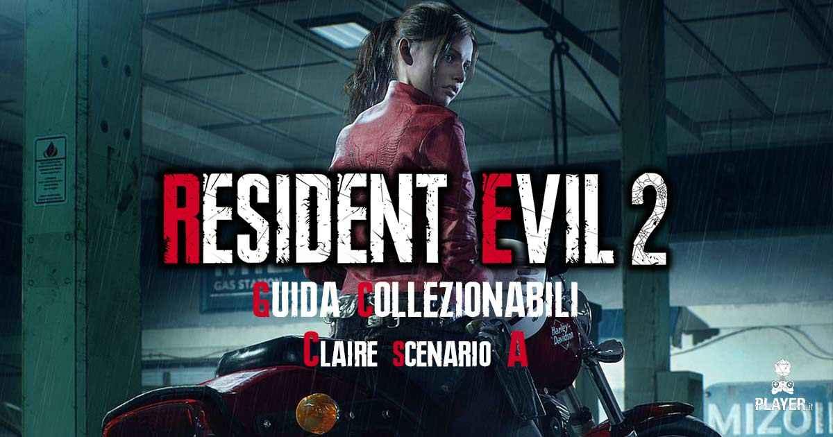 guida a tutti gli oggetti collezionabili nello scenario A di Claire in resident evil 2 remake