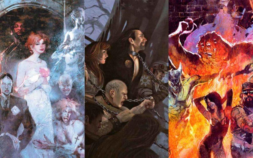 Le tre fazioni principali di Vampire the Masquerade