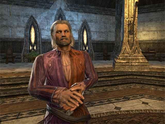 Il dio folle Sheogorath, come appare in The Elder Scrolls Online