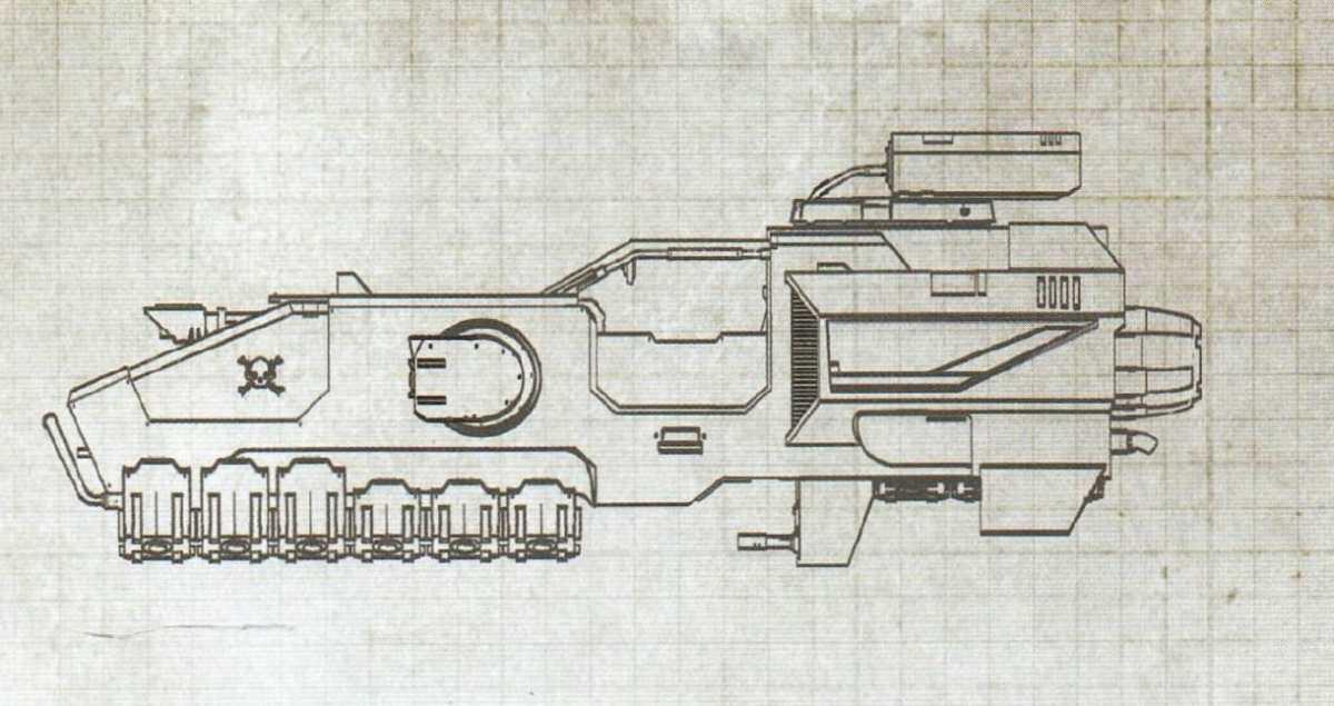 Storm Speeder degli Space Marine