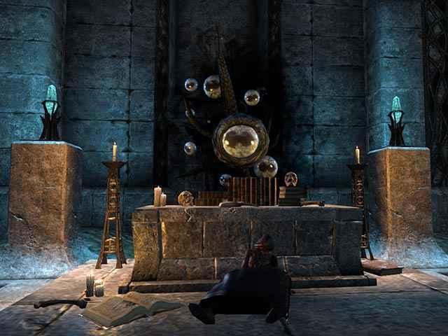 Hermaeus Mora durante la quest Sunken Knowledge in The Elder Scrolls Online