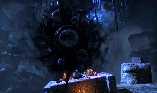 Hermaeus Mora ci appare durante la quest The Waking Dreamer in The Elder Scrolls Online