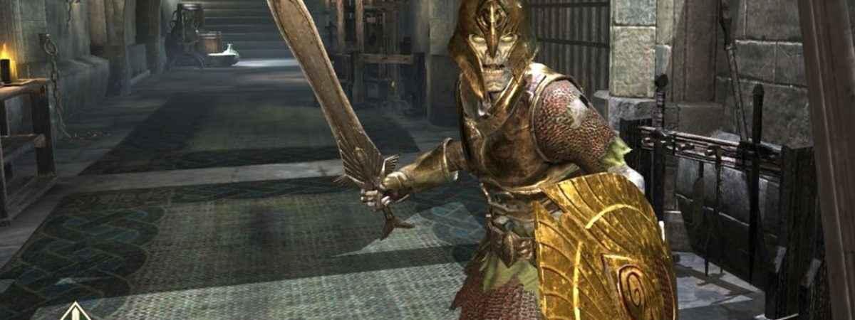 Screenshot per The Elder Scrolls Blades, titolo mobile del franchise Bethesda