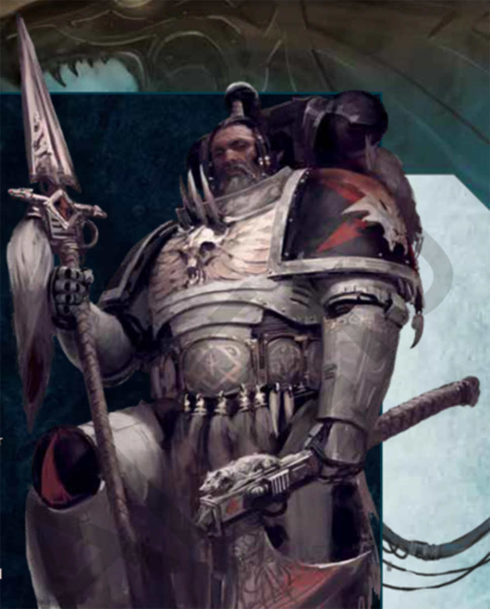 Space Marine del Capitolo Wolfspear