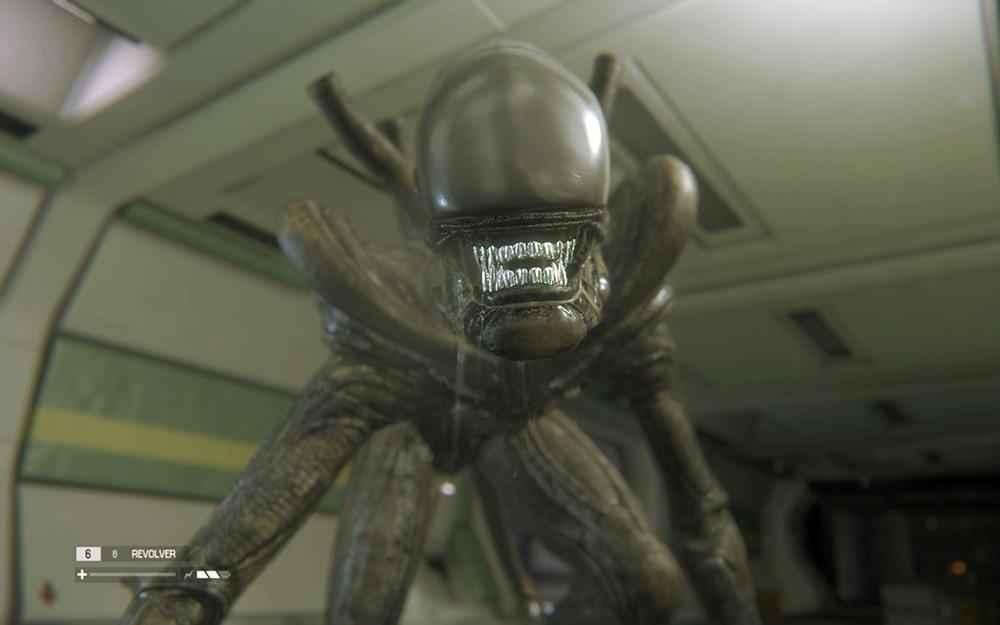 Alien close up su xenomorfo