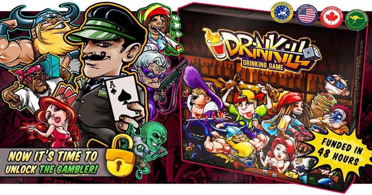 Il Kickstarter della settimana, Drinkill