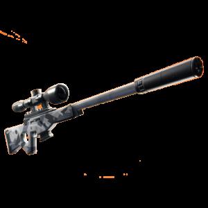Fortnite fucile di precisione silenziato silenced sniper rifle guida armi