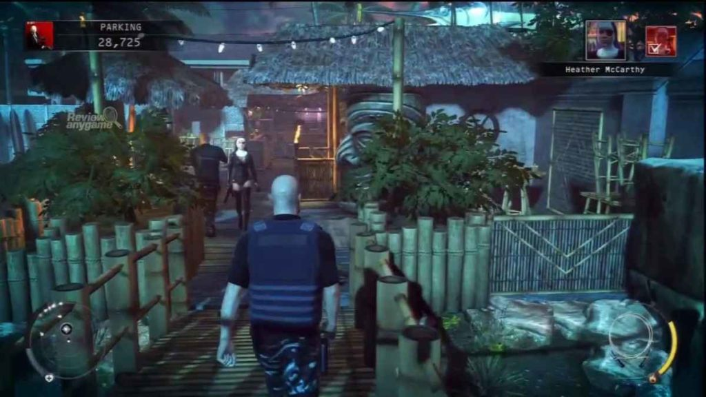 Uno screenshot preso dal videogioco Hitman Absolution