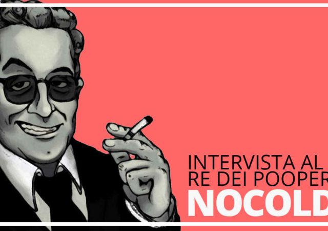 copertina dell'intervista a nocoldiz, noto youtube pooper italiano