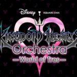 Logo del nuovo world tour della Kingdom Hearts Orchestra denominato World of Tres