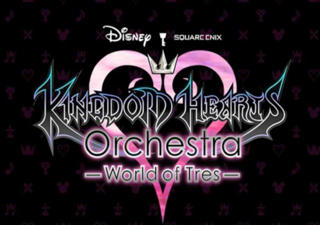 Logo del nuovo world tour della Kingdom Hearts Orchestra denominato World of Tres