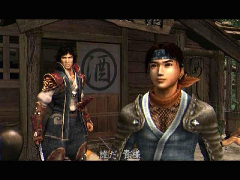 Jubei e Kotaro di Onimusha 2