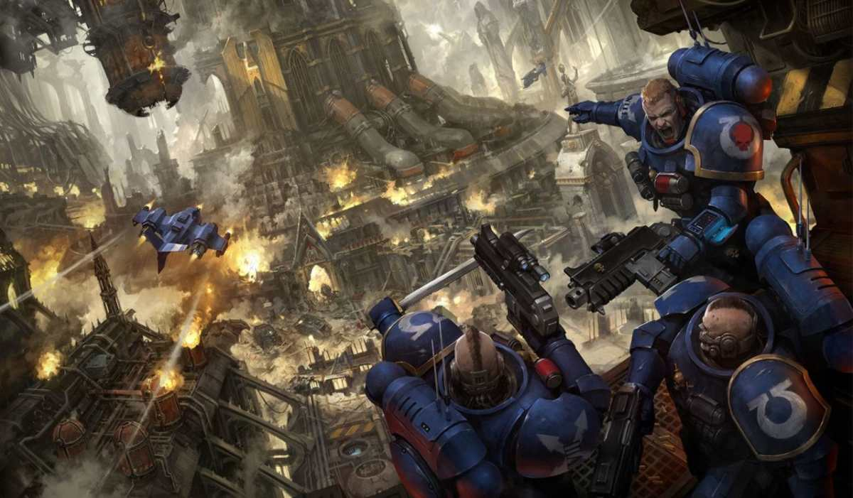 Squadra Oppressori degli Space Marine