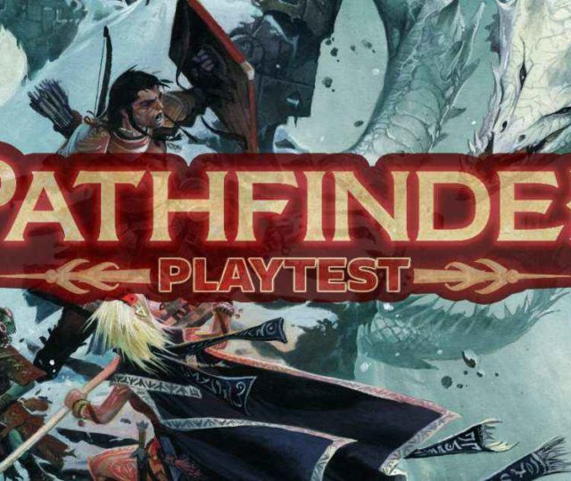 Pathfinder playtest copertina