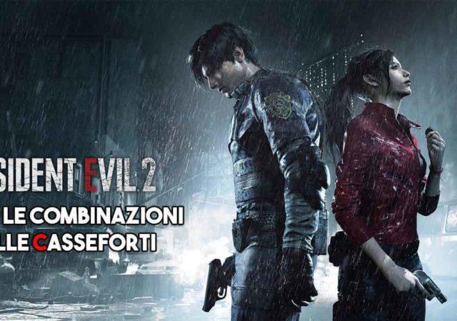 Resident Evil 2 Remake | Tutte le combinazioni delle casseforti
