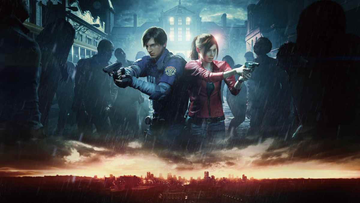 screenshot del remake di resident evil 2