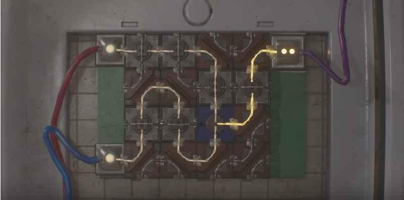 Foto della soluzione per lo schema della porta elettronica di Claire